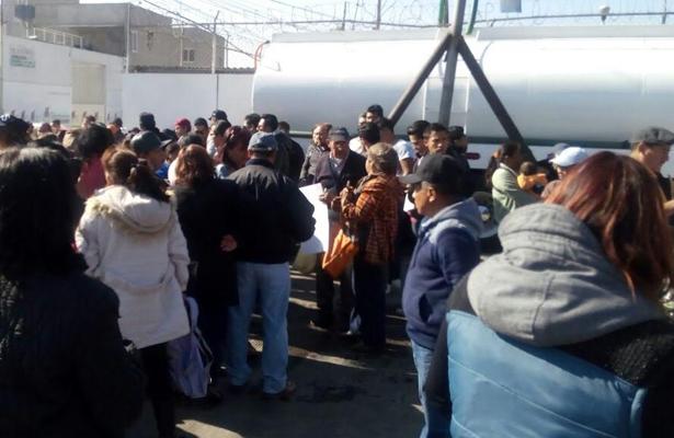 Toman pozos de agua, en protesta por el desabasto en Edomex
