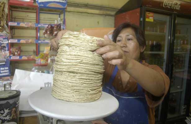 La tortilla aumentará entre 1.50 y 3.00 pesos el kilo