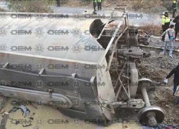 Cabúz de tren mata a familia en Ecatepec