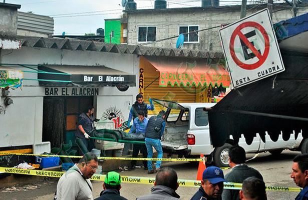 Ejecutan a balazos a vendedor, en Veracruz