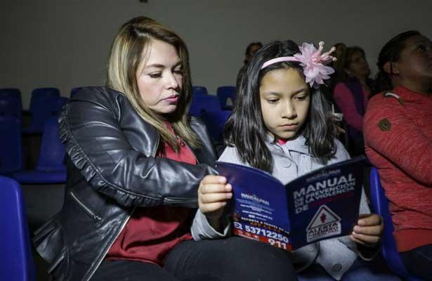Promueven prevención de violencia de género en Naucalpan