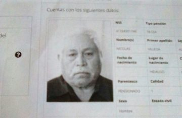 Está hospitalizado en San Luis Potosí