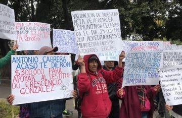 Mixistlán exige al gobierno la validación de sus autoridades elegidas por el sistema de usos y costumbres