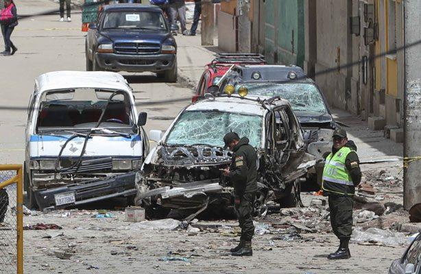 Bolivia impactada por atentado explosivo durante el carnaval de Oruro