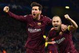 Messi le da aire al Barça ante Chelsea