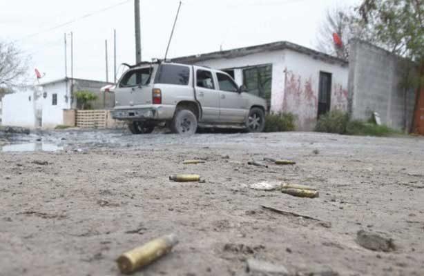 Cae presunto malandrín tras persecución y balacera en Reynosa