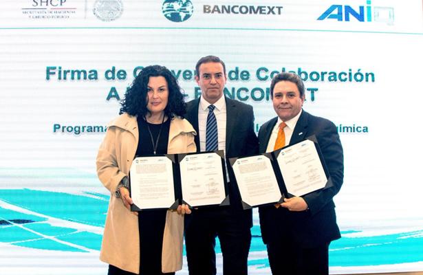 Firman Bancomext y la ANIQ convenio de colaboración