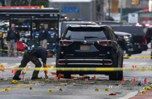 Cadena perpetua para autor de atentado con bomba en Nueva York