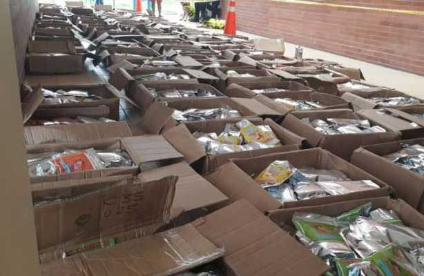 Ecuador decomisa 1.5 toneldas de droga escondida en paquetes de chocolate