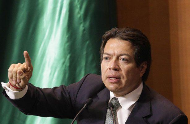 Reconstrucción de CDMX no puede quedar sujeta al capricho de tres diputados: Mario Delgado