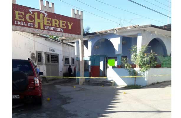 Ejecutan a la esposa de ex director de Seguridad Pública de Jamiltepec, Oaxaca