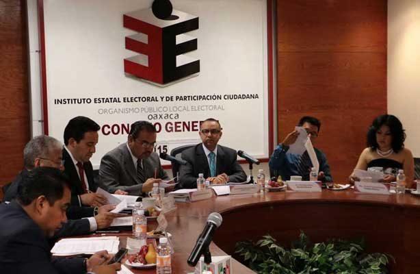 Integrantes del Consejo General del IEEPCO se autorizan incremento salarial