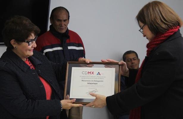 Reconoce el IAPA l labor de Iztapalapa para prevenir adicciones