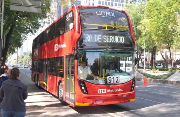 Prueban camiones de la Línea 7 del Metrobús