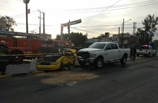 Muere taxista en accidente en Guadalajara