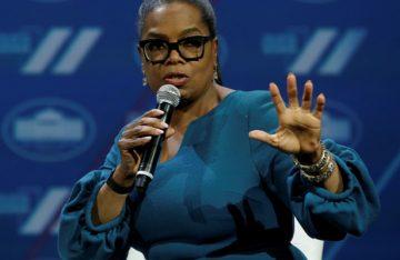 Oprah no va por la presidencia de EU