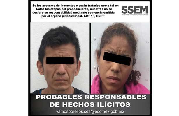 Recupera SSEM mercancía valuada en 800 mil pesos y detiene a dos personas
