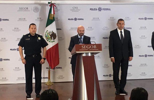 Reitera el Comisionado Nacional de Seguridad que se busca desmantelar estructuras criminales