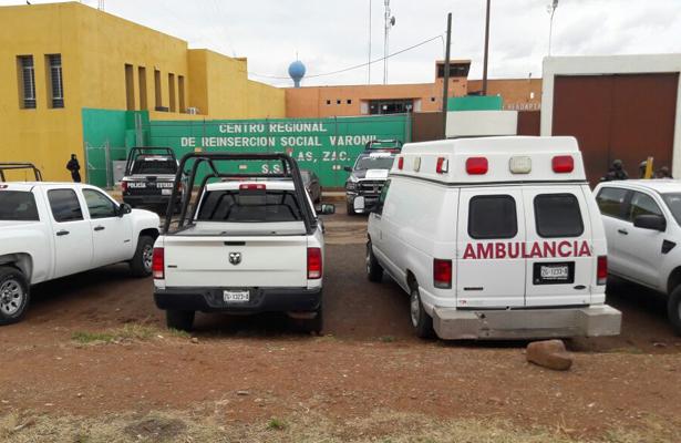 Un muerto y un lesionado por riña en el Cerereso de Zacatecas