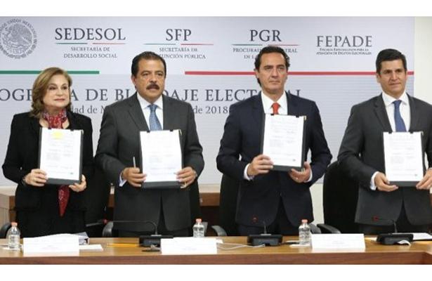 Blindarán Sedesol, PGR y SFP programas sociales durante proceso electoral