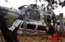 Sube a 14 los muertos por caída de helicóptero en Oaxaca