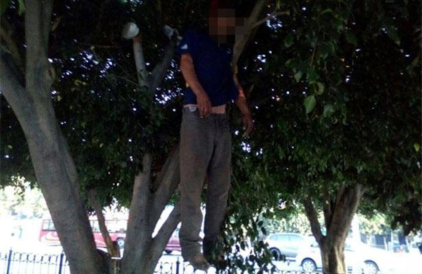 Ahorcado afuera del Metro Hidalgo, podría ser homicidio
