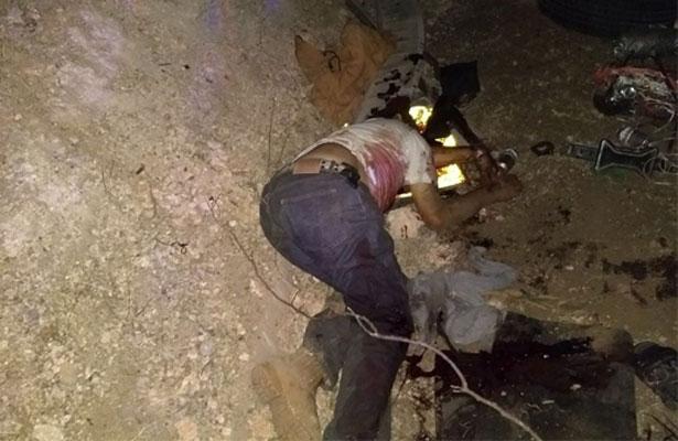 Seis muertos por balacera entre sicarios