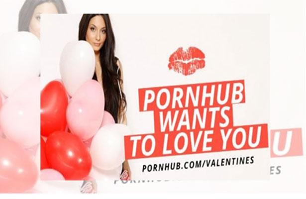 Pornhub te hace paro este Día de San Valentín