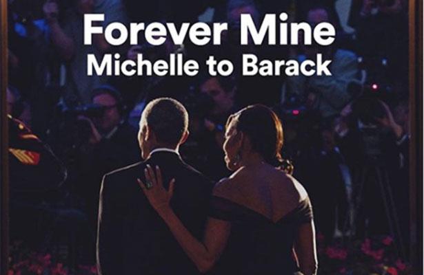 Michelle Obama le hace playlist a Barack por San Valentín
