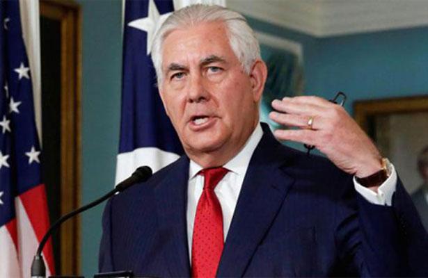 Venezuela acusa a Tillerson de incitar un golpe de Estado contra Maduro