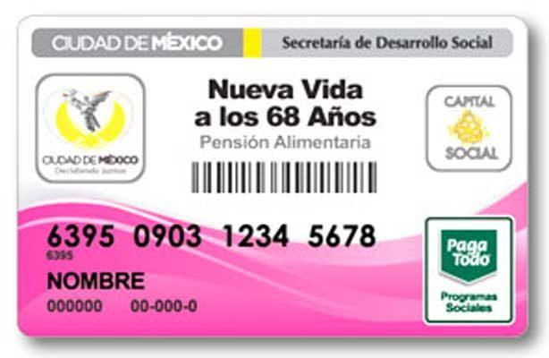 Reciben 6 mil adultos mayores tarjeta de pensión alimentaria