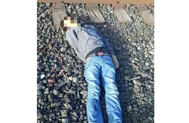 Lo destroza el tren en Durango