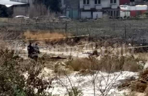 Con disparos en la cabeza ejecutan 3 hombres en la colonia poblana de San Jerónimo