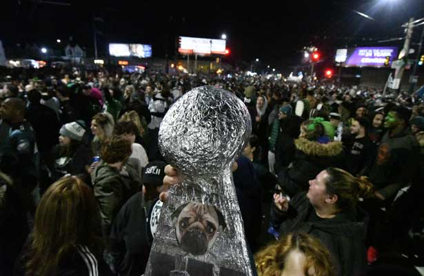 Fiesta en calles de Filadelfia