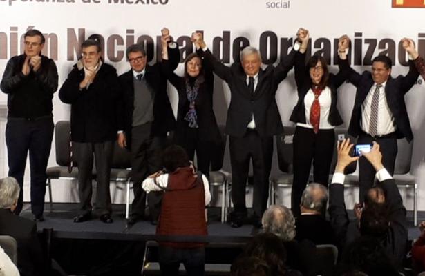 """Anuncia López Obrador a  """"Los Cazamapaches"""""""