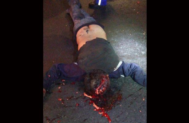 Hombre en condición de calle es atropellado y muere