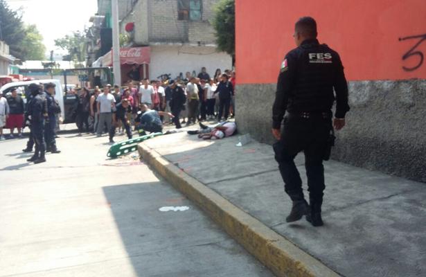 Balacera en Naucalpan deja tres muertos