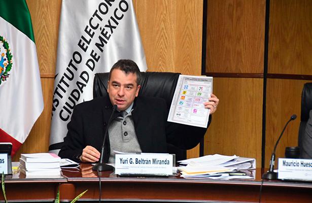 Blindará IECM boleta electoral con elementos de seguridad de última generación