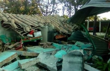 Cientos de casas dañadas por sismo en Oaxaca: Protección Civil
