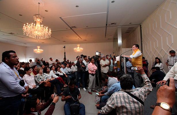 No nos vamos a equivocar en Chiapas: PRD
