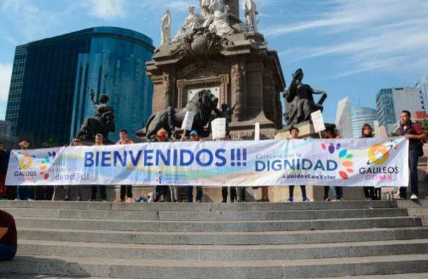 Comienza concentración de Caravana Anticorrupción en la CDMX