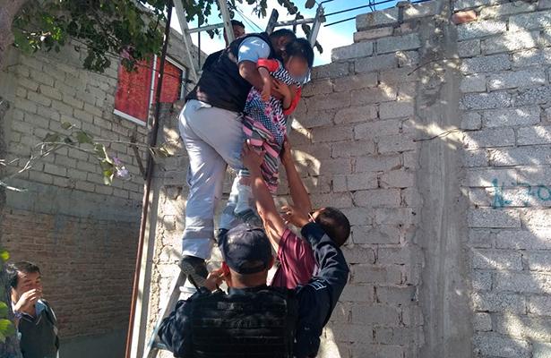 En estado de abandono hallan a cinco menores en Tehuacán