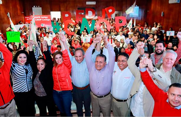 En la CNOP hay unidad del sector popular en torno a todos los pre candidatos