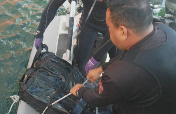 Descubren más de 40 kilos de cocaína, escondidos en un buque, en Colima