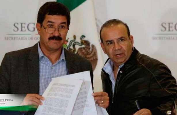 Logran acuerdo Javier Corral y Gobernación