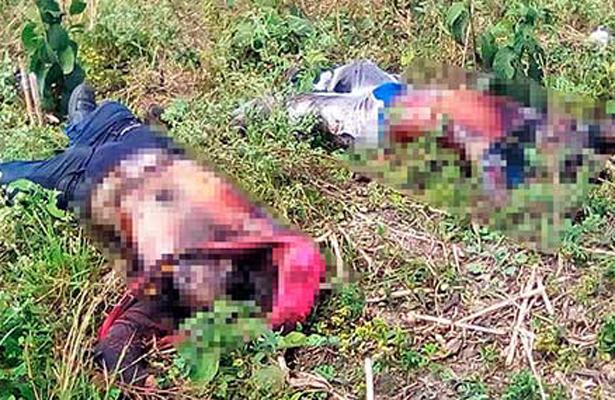 Encontraron cuatro cuerpos decapitados en Tabasco