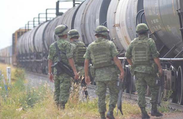 Disminuye en 90 por ciento robo a trenes en Guanajuato