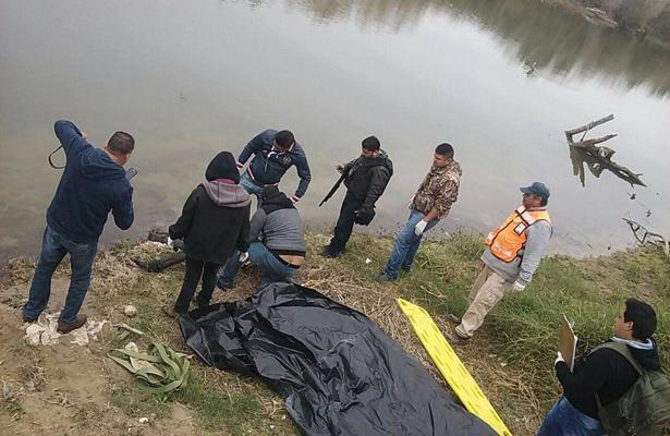 Flota cuerpo en las aguas del Río Bravo