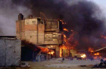 Se quemó casa