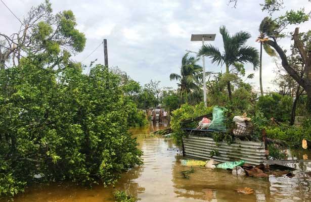 Ciclón Gita en Tonga dejó un muerto y decenas de heridos